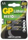 4x GP baterie lithiová FR6 2BL